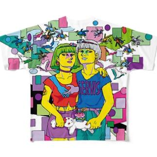 TWIN SPARK フルグラフィックTシャツ