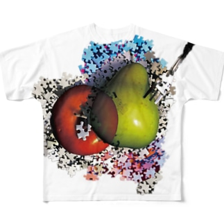 いつかユークロニア (裏サイド) Full graphic T-shirts