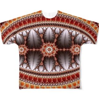 Deep Mandelbrot Set 003 Full graphic T-shirts