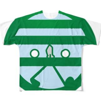 パ紋No.3048 晃 Full graphic T-shirts