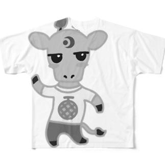 『たらキリン』プロジェクト フルグラフィックTシャツ