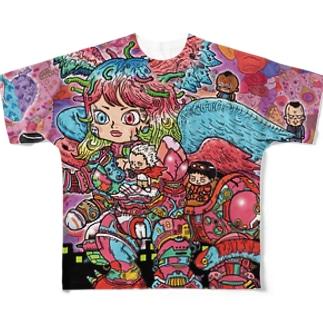かおーす Full graphic T-shirts