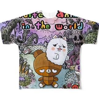 せかぶさ Full graphic T-shirts