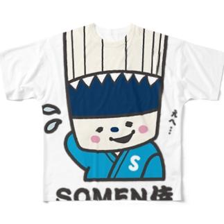 SOMEN侍「えへ」NEWモデル フルグラフィックTシャツ