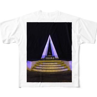 日本最北端の地 Full graphic T-shirts