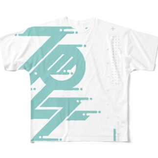 夏 フルグラフィックTシャツ