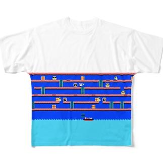 Rabbian フルグラフィックTシャツ