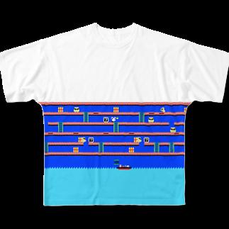 Rab StoreのRabbian フルグラフィックTシャツ