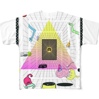 脳problem_05 Full graphic T-shirts