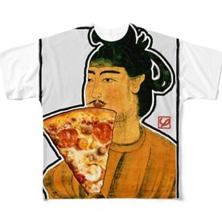ピザ大使 Full graphic T-shirts