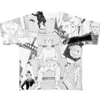 シネマの世界 フルグラフィックTシャツ