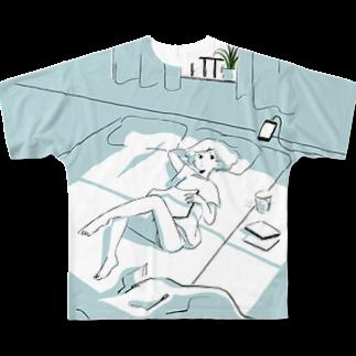 北村みなみのUFO八景TeeフルグラフィックTシャツ