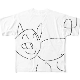 ぶた2 Full graphic T-shirts