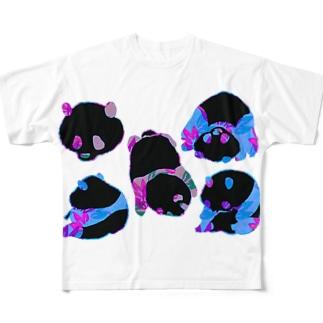 さいけでりっくぱんだ Full graphic T-shirts
