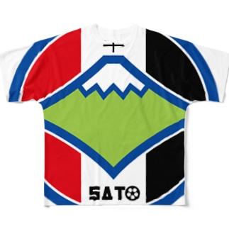 パ紋No.3070 sato Full graphic T-shirts