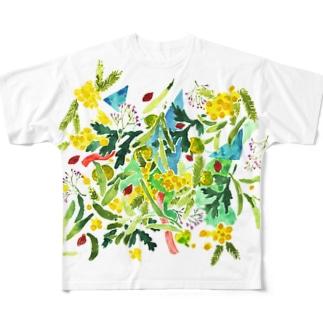 徳島の思い出 Full graphic T-shirts