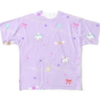 ゆめかわめるへん Full graphic T-shirts
