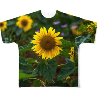 sun flower Full graphic T-shirts