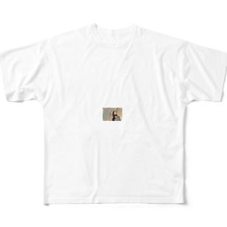 男性も知って得する長寿の理由 Full graphic T-shirts