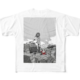 是即ちロック フルグラフィックTシャツ