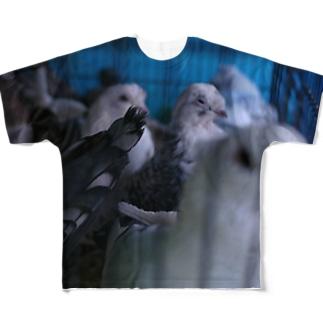 トルコの鳩 Full graphic T-shirts