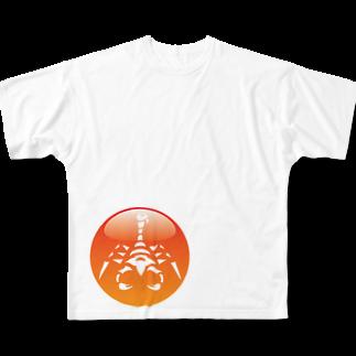 hatenkaiの覇天会のグッズ6 フルグラフィックTシャツ