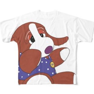 いぬわんたんフルグラフィックTシャツ フルグラフィックTシャツ