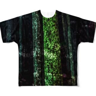 樹望 Full graphic T-shirts