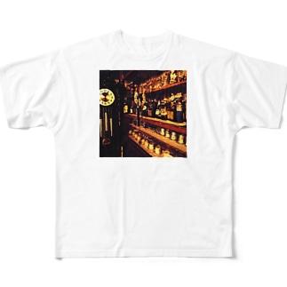 大きな古時計 Full graphic T-shirts