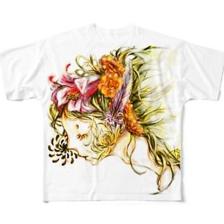虚栄恋 フルグラフィックTシャツ