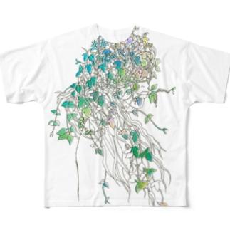 つるまきさん2 フルグラフィックTシャツ