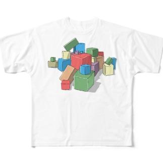 アイコンシャツ フルグラフィックTシャツ