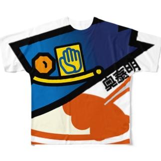 パ紋No.3081 奥 フルグラフィックTシャツ