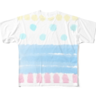 夏の海 Full graphic T-shirts