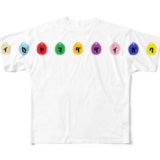 雫 フルグラフィックTシャツ