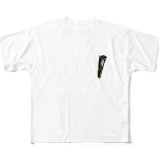 おちてたスモーキン Full graphic T-shirts
