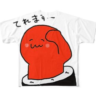 てっかまき Full graphic T-shirts
