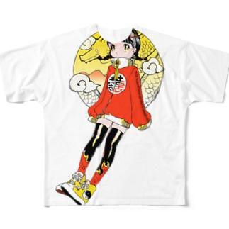 ドラゴンチャイナ フルグラフィックTシャツ