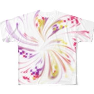 ぼやぁん Full graphic T-shirts