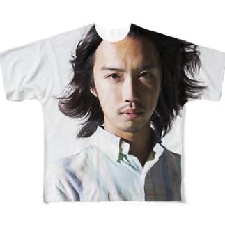 囲い Full graphic T-shirts