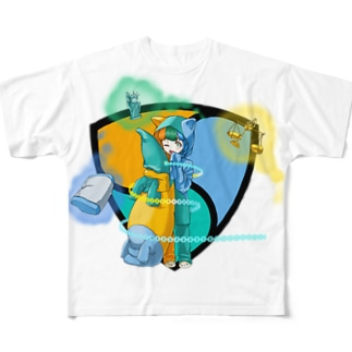 ネムちゃん Full graphic T-shirts