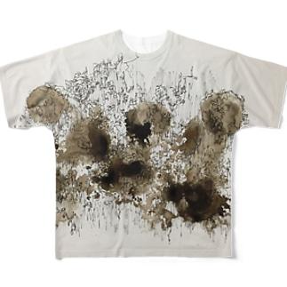 屍 Full graphic T-shirts