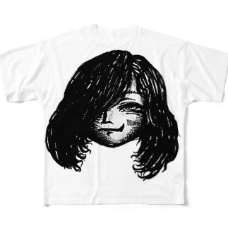 天の鬼chan☆ Full graphic T-shirts