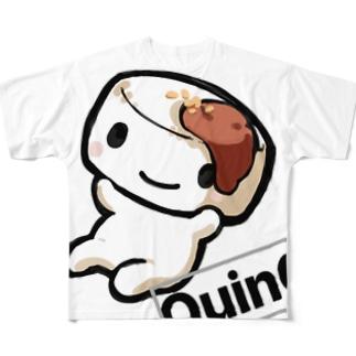 QuinQ official shirt フルグラフィックTシャツ