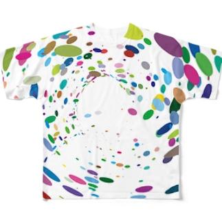 渦巻vol.1 フルグラフィックTシャツ
