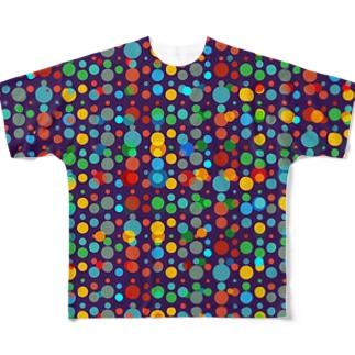 水玉vol.2 フルグラフィックTシャツ