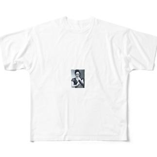 現代の職業は昔に比べてデスクワーク主体になって Full graphic T-shirts
