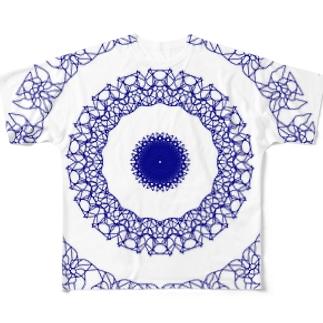 かざぐるま 2 Full graphic T-shirts