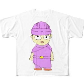 のんびりクエスト「勇者」 Full graphic T-shirts