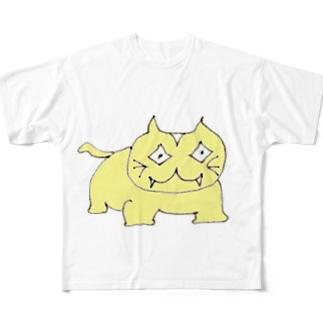 のんびりクエスト「ナニカ」 Full graphic T-shirts